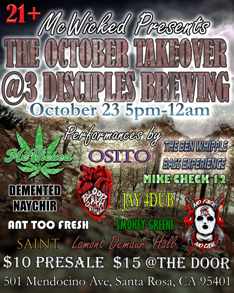 The October Takeover Event